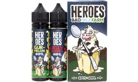 Жидкость Heroes Farm - Bad Milk Farm (60+60 ml)