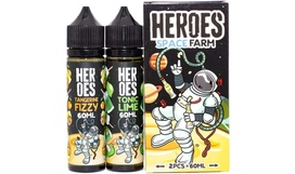 Жидкость Heroes Farm - Space Farm (60+60 ml)