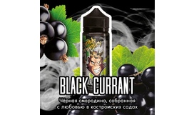 Жидкость Frankly Monkey Black Edition - Black Currant (120 мл)