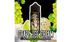 Жидкость Frankly Monkey Black Edition - Grape Ice Cream (120 мл)