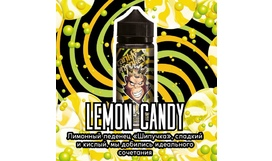 Жидкость Frankly Monkey Black Edition - Lemon Candy (120 мл)