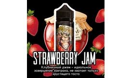 Жидкость Frankly Monkey Black Edition - Strawberry Jam (120 мл)