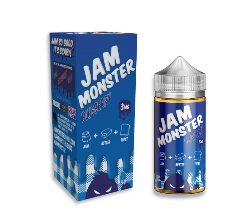 Жидкость Jam Monster - Blueberry (100 мл)