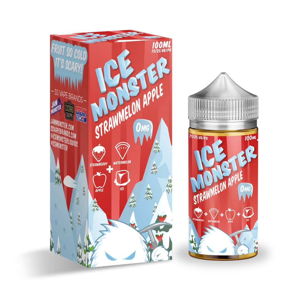 Жидкость Ice Monster - StrawMelon Apple (100 мл)