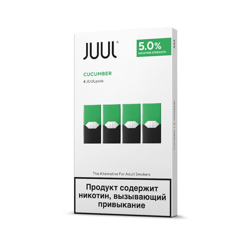 Картридж Juul Cool Cucumber 0,7мл (59 мг)